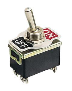 Conexion Terminales Faston 6/'3mm Interruptor Unipolar De Palanca 10A 250V